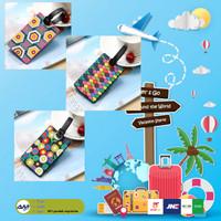 Luggage Tag Label Koper Bagasi Gantungan Tas Travel ID BAGGAGE PVC L10