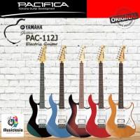 Yamaha Gitar Elektrik / Listrik PACIFICA PAC112J / PAC 112J / PAC-112J - Black