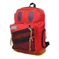 BLOODS Tas Bag Pack Blend 03 Ransel Red