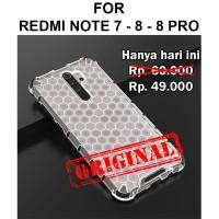 Case Xiaomi Redmi Note 7 - 8 - Pro casing cover fuze armor HONEYCOMB