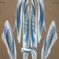 Striping List Body Mio Sporty CW Karbu tahun 2007 - Putih