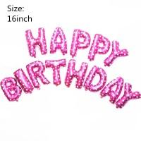 33Pcs Set Balon Desain Hello Kitty untuk Dekorasi Pesta Ulang Tahun