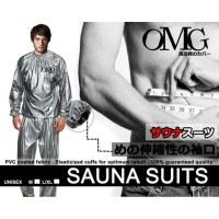 Baju Sauna Baju Olahraga Bakar Kalori Keringat Jaket Celana OMG ORI