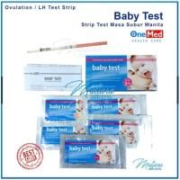 Strip Test Masa Subur Wanita / Baby Test OneMed (Ovulation/LH Test )