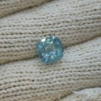 Natural Aquamarine Beryl 5.37 Crt - ada juga Ruby Emerald Chrysoberyl