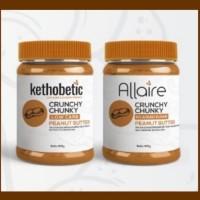 Ketobetic Crunchy Chunky Peanut Butter Selai Kacang untuk Diet Keto