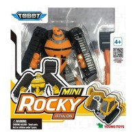 Youngtoys Tobot Mini Rocky Athlon Transforming