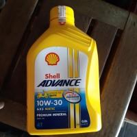 Oli Shell advance AX5 Scooter / matic SAE 10W-30 800 mL