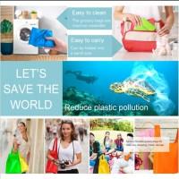Baggu portable reusable shopping grocery bag