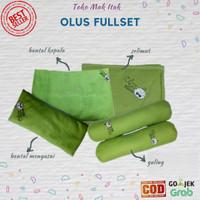 Olus pillow full set | bantal bayi | bantal katun bantal kacang hijau
