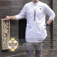 pakaian muslim jubah koko elegan / baju koko baju quarta baju qurta