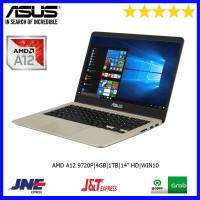 LAPTOP ASUS A411QA AMD A12 9720P|4GB|1TB|RADEON R7|14 HD|WIN10