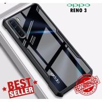 Case OPPO A91 RENO 3 Anti Shock Beatle Series Armor Transparan Clear