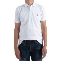 POLO SHIRT Custom Fit 100% Cotton - White