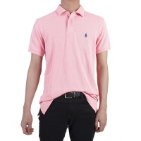 POLO SHIRT Custom Fit 100% Cotton - Baby Pink