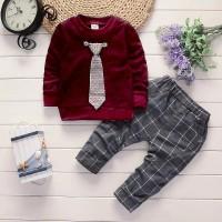 Setelan anak laki Taki Dasi Kids/fashion anak laki laki/baju anak cowo