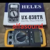 HELES UX 838 TR Multitester Avometer Digital Multimeter UX838TR Multi