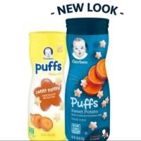 Gerber Fruit Puff Sweet potato 1.48oz biscuits biskuit anak bayi