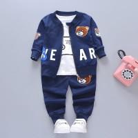 Anak Set Pakaian anak Laki-laki Baby baju Jas lengan panjang 3 in1 v15