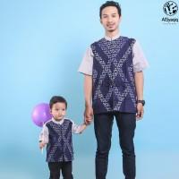Big Sale Baju Kemeja Koko Couple Ayah Anak Keluarga Pria Terbaru