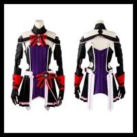 Kostum OSPLAY COSMORE SWORD ART ONLINE ORDINAL SCALE YUNA KOMPLIT