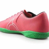 bagus:: Sepatu Futsal OrtusEight Blitz - Light Red/White/Black/Green