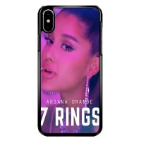 Hardcase iPhone X   XS ariana grande 7 rings X8584