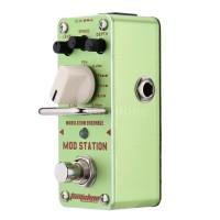 Aroma ams-3 Pedal Efek Gitar Elektrik Modulasi Mod Station