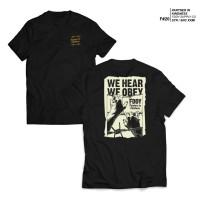 FRUDDY DUDDY - FDDY - KAOS HITAM - WE HEAR OBEY