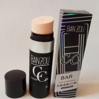 100% ORI BANZOU Putar Keluar CC Cream Stick Anti Air Natural Makeup