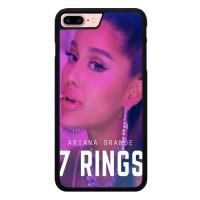 Hardcase iPhone 8 Plus ariana grande 7 rings X8584
