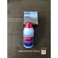 WURTH Brake Fluid minyak rem motor/mobil DOT3 clear [250 mL]