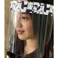 Face Shield Motif Premium Quality Face Mask Bayi Anak Dewasa