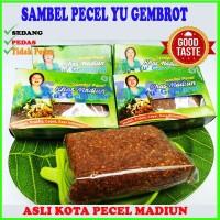 Sambel Pecel Madiun Yu Gembrot Bumbu Kacang Instan Siap Makan