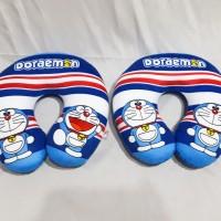 Bantal Leher Bantal Mobil Travelling Doraemon Cute Yelpo Halus