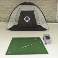 Paket Driving Range Matt 1.5x1.5 m & Jaring 2m Bonus Tee 1