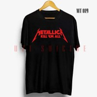 KAOS BAND METALLICA HIGH QUALITY | MT 019 | GROSIR KAOS METAL - XL