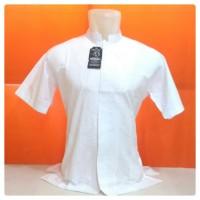 Baju Koko Pria Spesial Putih Bahan Katun