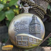 kado anniversary Big Ben creative jam untuk dompet dari bahan Stainles