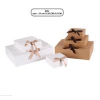 XXL kotak kado pita Kotak baju Kotak sembako Kotak cupcake cookies