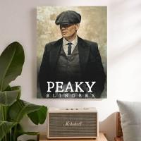 Peaky Blinders, ver.2 Poster Kayu (30x22)