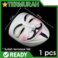 topeng anonymous mask v vendetta guy fawkes hacker peretas