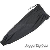 Celana Panjang Jogger Pria Big Size Jumbo Baby Terry Training -PJT.BT
