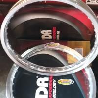 Velg TDR W Shape set 160/185 ring 17 silver