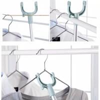 Tongkat jemuran pengait baju panjang ajaib bisa di stel pendek atau pa