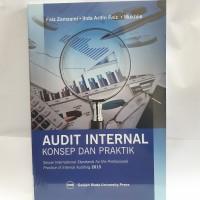 Audit Internal : Konsep Dan Praktik