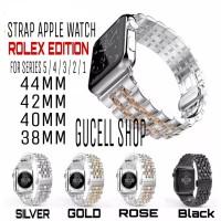 STRAP APPLE WATCH IWATCH 5/4/3/2/1 STAINLESS STEEL ROLEX MILANESE