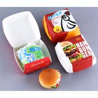 Box Kotak Kemasan Burger Kentang Nugget Sosis Bakso Kertas food grade