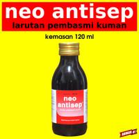 Larutan Pembasmi Kuman Virus Desinfektan - NEO ANTISEP - 120 ml Medion