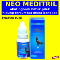 Obat Ngorok Pilek Sesak Napas Ayam - NEO MEDITRIL LAGA - Drop 15 ml